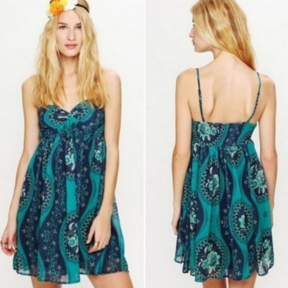 Free People Eternal Spring Babydoll Dress Small